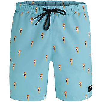 Bjorn Borg Ice Cream Print Swim Shorts, Soft Blue