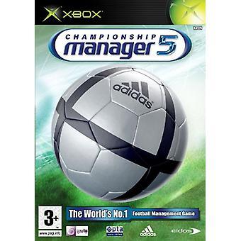 Championship Manager 5 (Xbox)