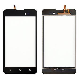 Display touch skærm digitizer sort-til WIKO solrige 2 plus reservedele