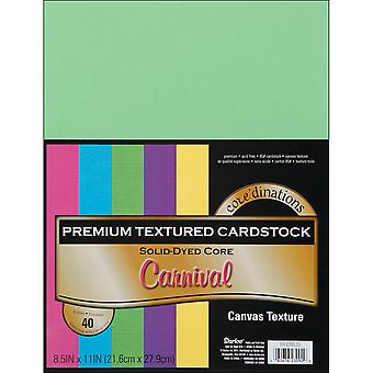 Core'dinations Value Pack Canvas Cardstock 8.5