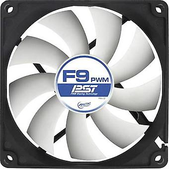 Arctic F9 PWM PST PC fan Black, White (W x H x D) 92 x 92 x 25 mm
