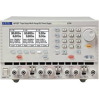 Aim TTi MX180T Bench PSU (adjustable voltage) 0 - 120 V 0 - 3 A 18 W, 180 W No. of outputs 3 x