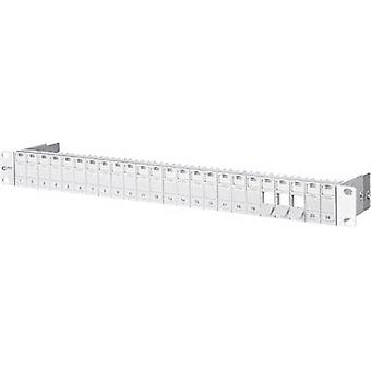 Metz Connect 130920-00-E 24 ports Network patch panel Unequipped 1 U