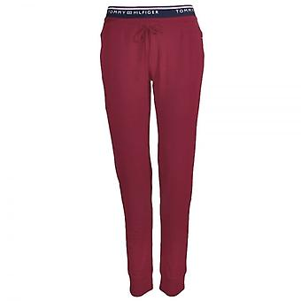 Tommy Hilfiger Women Fitness Pant, Red, Large
