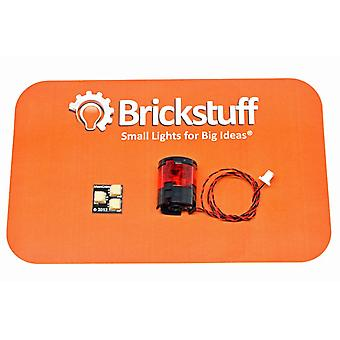 Brickstuff 7-LED Rotating Beacon with Orange LEDs - LEAF07-OR-1PK