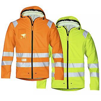 Snickers Hi Vis rain proof Lighweight Work Jacket. EN343 Class 3 - 8233