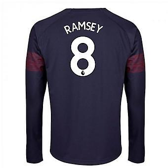 2018-2019 Arsenal Puma Away Long Sleeve Shirt (Ramsey 8)