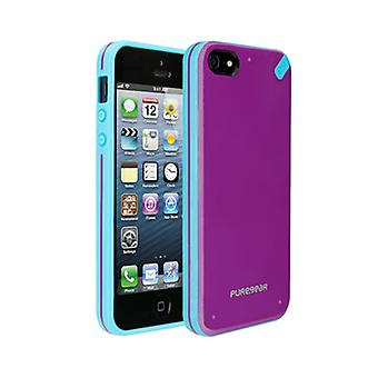 Puregear Slim shell Case for Apple iPhone 5 (Passion Fruit) - 02-001-01827