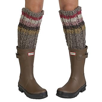 Tierra women's wool welly socks in rose | Fairtrade & hand-made by Pachamama