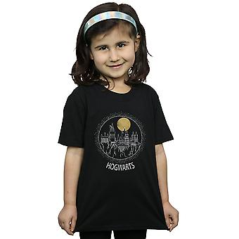 Harry Potter Hogwarts Mädchen Kreis T-Shirt