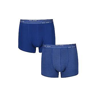 New Designer Mens Pepe Jeans Boxer Trunk Shorts Bradford Gift Set