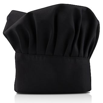 TRIXES Professional cucina Chef Hat nero