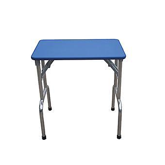 Groom Professional Matterhorn Folding Table Blue 90cm X 60cm X 76cm