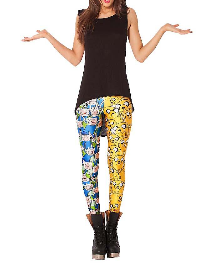 Waooh - Fashion - Finn en Jake bedrukte leggings Adventure Times