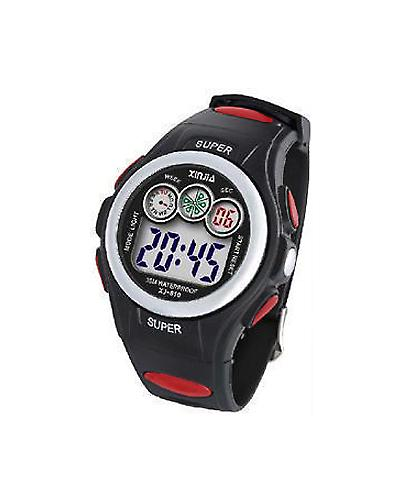 Waooh - Watch XINJIA LCD XJ-810 Red