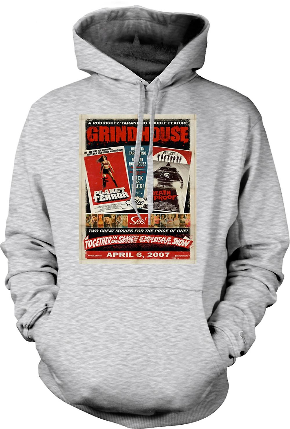Mens Hoodie - Grindhouse-Planet Terror / Death Proof