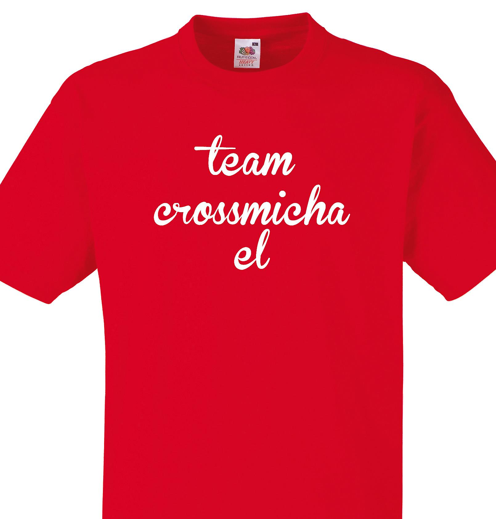 Team Crossmichael Red T shirt
