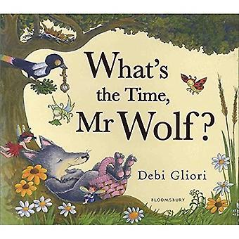 Wat is de tijd, de heer Wolf?