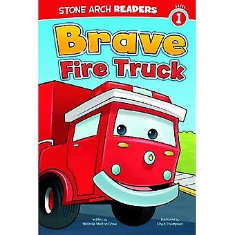 Mutige Feuerwehrauto