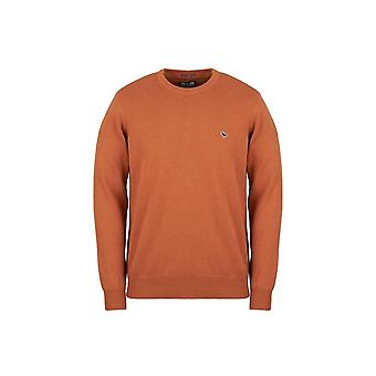 Weekend Offender Mitchell Mustard Crew Neck Sweater