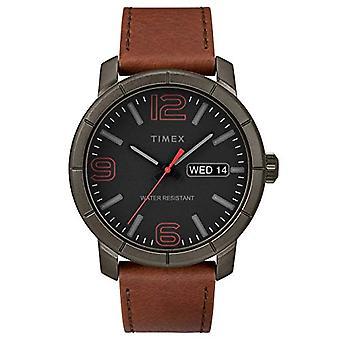 Montre Timex analogique quartz homme cuir TW2R64000