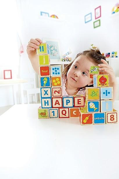 HAPE A B C Blocks E0419