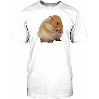 Bedårande husdjur rysk Hamster äter barnen T Shirt