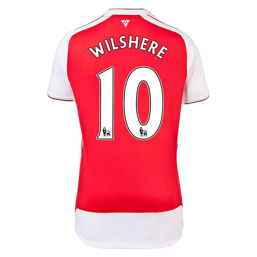 2015-16 Arsenal Home Shirt (Wilshere 10) - Kids