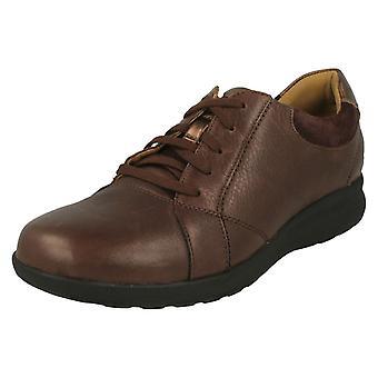 c2711d6f34e6 Ladies Clarks Unstructured Lace Up Shoes Un Adorn Lace