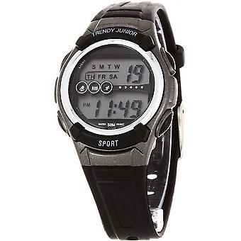 Reloj moda Junior KL367 - niño negro digital