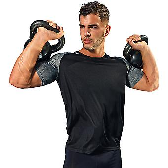 Outdoor Look Mens Embossed Lightweight Wicking T Shirt