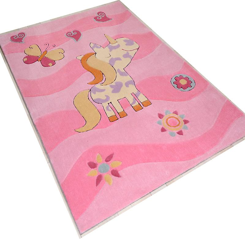 Rugs - Children\'s Pink Pony Rose - 3034