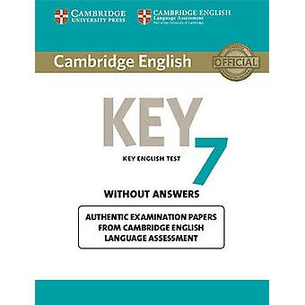 Cambridge English Key 7 Student's Book without Answers - Authentic Exa