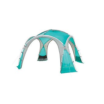 Coleman Large Event Dome - 3.65 x 3.6m - Turquoise Blue