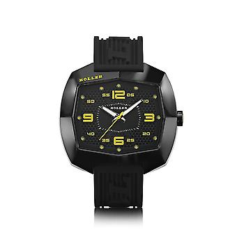 Holler Pimped De Lite Black & Yellow Watch HLW2452-1