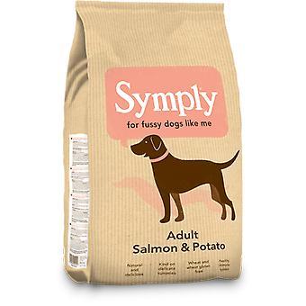Symply Salmon & Potato Dry Dog Food - 2Kg Bag