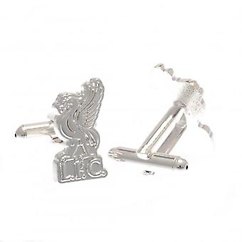 Liverpool Silver Plated Formed Cufflinks LB