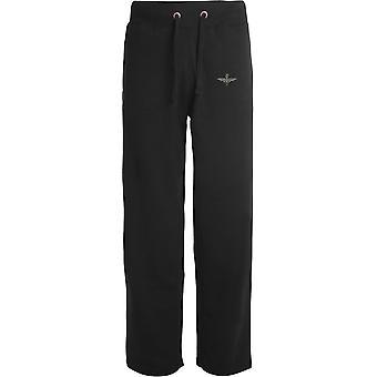 4e Bataillon Parachute Regiment - Licensed British Army Embroidered Open Hem Sweatpants / Jogging Bottoms