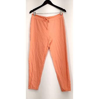 xhilaration Lounge Pants Lightweight Knit Pull On Orange Womens