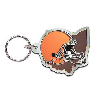 Wincraft STATE Schlüsselanhänger - NFL Cleveland Browns