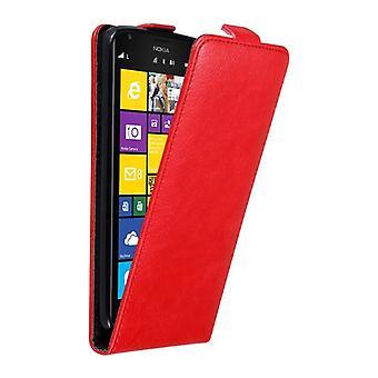 Cadorabo Hülle für Nokia Lumia 1520 Case Cover - Handyhülle im Flip Design mit Magnetverschluss - Case Cover Schutzhülle Etui Tasche Book Klapp Style