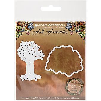 Find It Trading Yvonne Creations Fall Favorites Die-Seasonal Tree