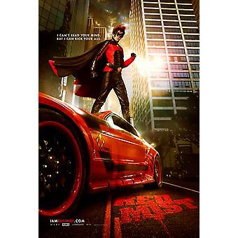 Kick-Ass Poster - Red Mist (Christopher Mintz-Plasse) Double Sided Advance Us One Sheet (2010) Original Cinema Poster