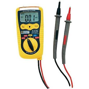 Handheld multimeter Chauvin Arnoux C.A 702 Calibrated to: Manufacturer standards