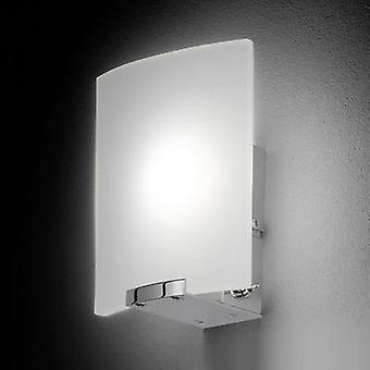 LED wall light 4 W Warm white Honsel Luis 29951 White (matt), Chrome