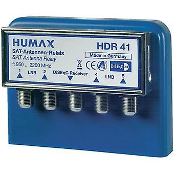 DiSEqC switch Humax HDR 4x1 WSG 4 (4 SAT/0 terrestrial) 1