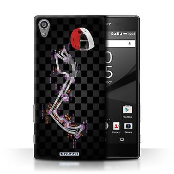 STUFF4 Case/Cover for Sony Xperia Z5/5.2/Monaco/Monte Carlo/2014 F1 Track