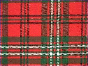 Scott Red, Modern - Pure Wool Tartan