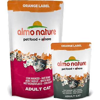 Almo nature With Ox (Cats , Cat Food , Wet Food)