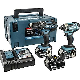 Makita DLX2131JX1 18V LXT 2 Piece Combo Kit 3x3.0Ah Batteries